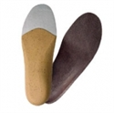 Изображение Стелька ортопедическая (супинатор) индивидуализируемая с покрытием из натуральной кожи С 0117