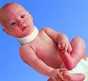 Изображение Воротник Шанца асимметричный  для младенцев F 9001