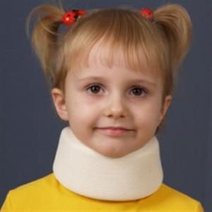 Изображение Воротник Шанца ортопедический мягкий детский F 9001