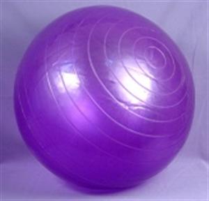 Изображение Мяч гимнастический для фитнеса L 0175b с насосом
